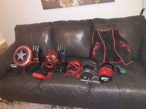 Huge Cosplay/Super Hero Dress up Lot for Sale in Dallas, GA