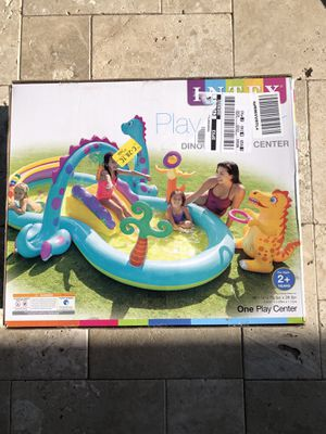 New Intex DinoLand PlayCenter Pool for Sale in Gilbert, AZ