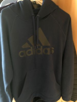 Adidas Blue Large Hoodie for Sale in Reisterstown, MD