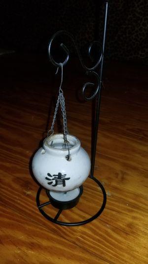 Japanese Hanging Oil Burner Cauldron with Tea Light holder for Sale in Norfolk, VA