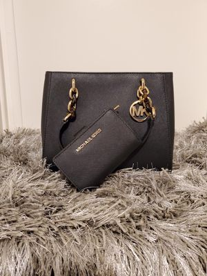 Michael Kors black tote with wallet for Sale in Costa Mesa, CA