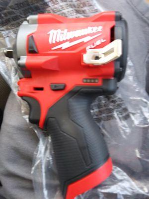 . Milwalki fuel brand 12v 3/8 impact gun for Sale in Lawrenceville, GA