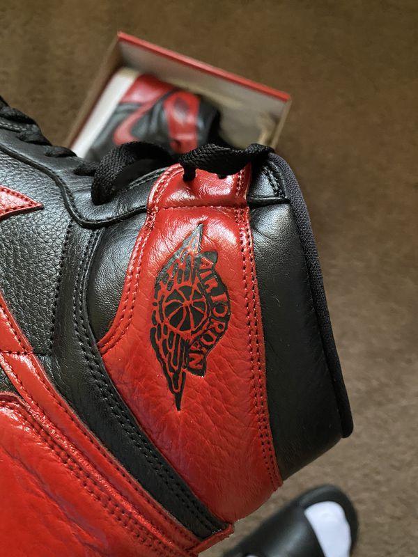 Custom Jordan 1 bred
