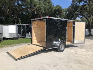 6x12 SA Enclosed Trailer Cynergy Basic Series Rear Ramp for Sale in Tampa, FL