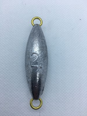 Dolphin tackle torpedo 2 oz fishing sinker lead weight for Sale in Yorba Linda, CA