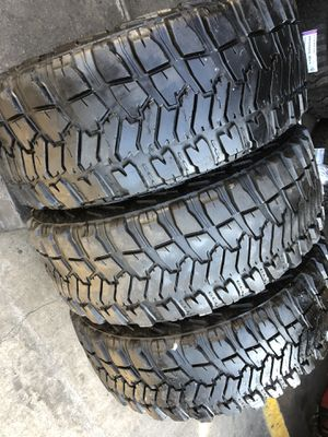35/12.50R17 Good Year MTR tires (3 only $280) for Sale in Downey, CA