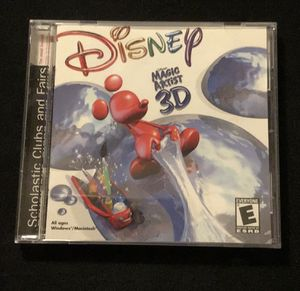 Disney Magic Artist 3D old PC game for Sale in Lawrenceville, GA