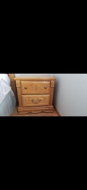 Solid Oak bedroom set for Sale in Monroe, WA