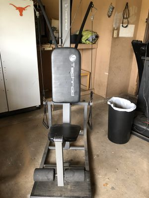 Techrod exercise machine (similar to the bowflex) for Sale in Dallas, TX