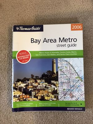 Thomas Guide 2006 brand new with CD $8 for Sale in Dublin, CA