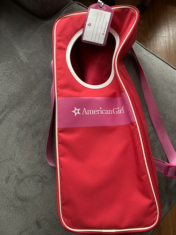 American Girl doll carry case