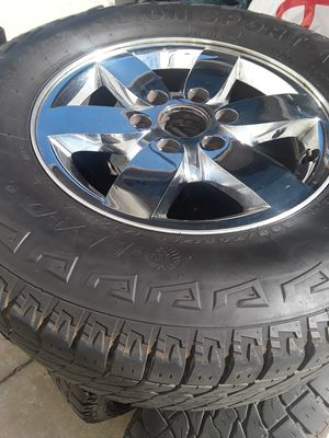 "17"" CHEVY SILVERADO, SUBURBAN, GMC RIMS for Sale in Whittier, CA"