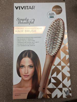 Vivitar Ceramic Straightening Hair Brush for Sale in Phoenix, AZ