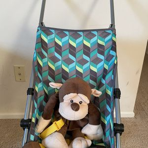 Cosco Comfort Height Umbrella Stroller And Monkey Backpack With Safety Harness . Combo . for Sale in Dublin, OH