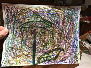 Abstract art that my son Drew for Sale in Livonia, MI