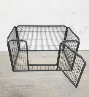 """New in box $75 Heavy Duty 49""""x32""""x28"""" Pet Playpen Dog Crate Kennel Exercise Cage Fence, 4-Panels for Sale in Downey, CA"""