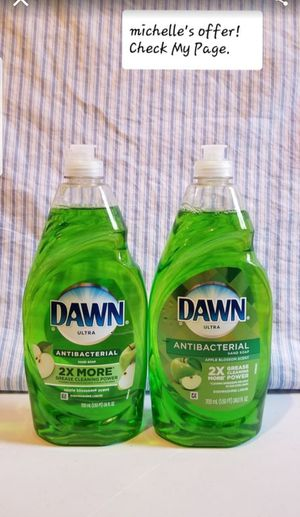 Dawn Ultra dish soap 24oz Antibacterial for Sale in Temple Hills, MD