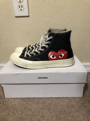 Cdg converse Size 9 for Sale in Richardson, TX