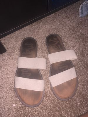 Target sandals stretchy band material for Sale in Fresno, CA