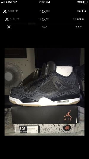 AIR JORDAN RETRO 4 SE LASER SIZE 13 🔥NEED GONE ASAP🔥 for Sale in San Jose, CA