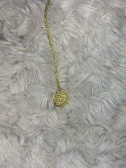 Simple gold plate necklace for Sale in Ashburn,  VA