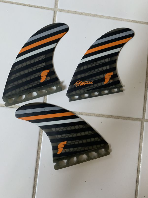T Patterson TP1 - Surfboard Tri-Fin Set (Large)