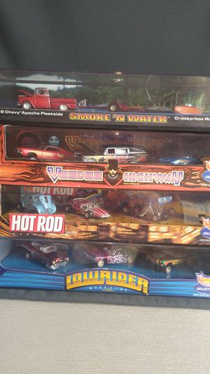 Hot wheels collection Lowrider voodoo highway smoke n water hot rod magazine collection for Sale in Oak Brook, IL