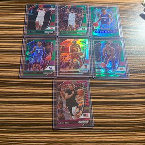 Panini Prizm Basketball Draft Picks Parallels for Sale in Los Angeles, CA