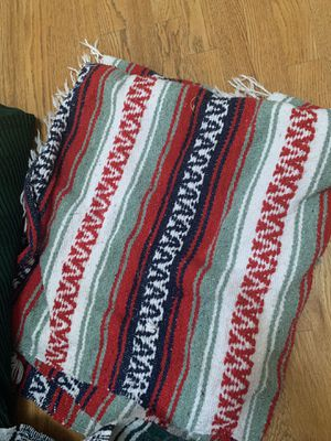 Mexican blankets + ikea blanket / throw for Sale in Seattle, WA
