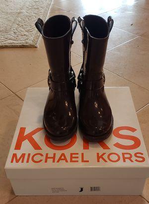 Michael Kors Rain Boots 6 for Sale in Laguna Niguel, CA