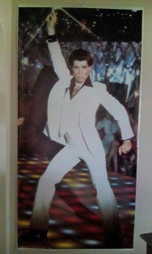 John Travolta large poster for Sale in Seattle, WA