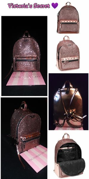 Victoria's Secret mini sparkle backpack New with tags $40 💁🏻✌️Firm pick up ONLy💁🏻 for Sale in Los Angeles, CA