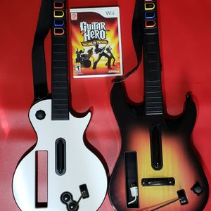 Nintendo Wii Guitars And Game for Sale in Happy Valley, OR