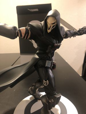 Collectible overwatch art statue for Sale in Houston, TX