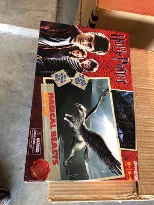 Harry Potter magical beast board game like new for Sale in McKinney, TX