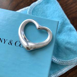 Tiffany Elsa Peretti Open Heart Pendant for Sale in Washington, DC