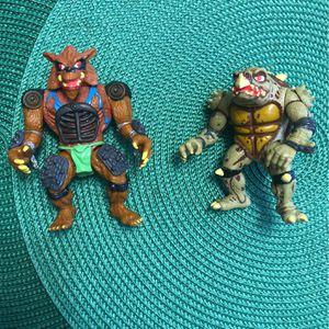 Ninja Turtles Vintage 1991 Movie Figures for Sale in Houston, TX