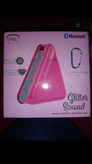 Pink bluetooth speaker for Sale in San Antonio, TX