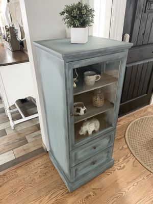 Cute storage cabinet / book case / shelves for Sale in Littleton, CO