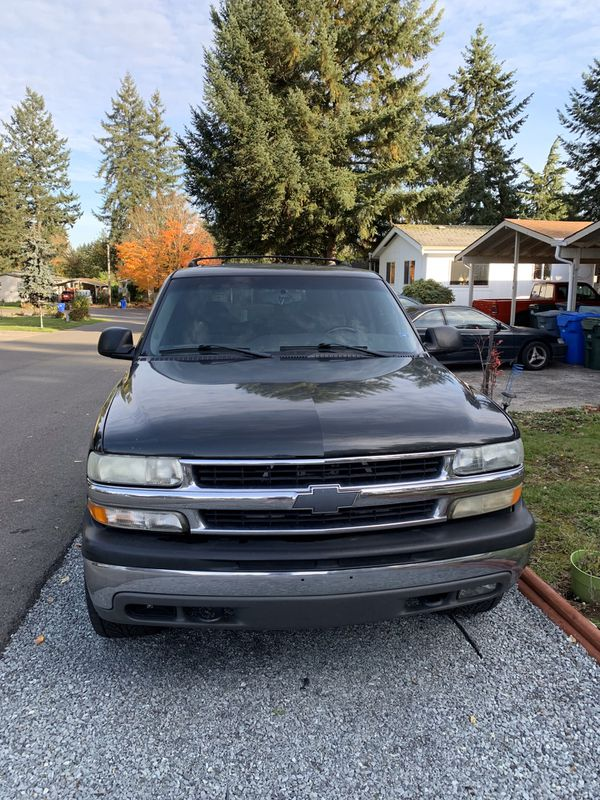 2003 Chevy Tahoe For Sale In Tacoma  Wa