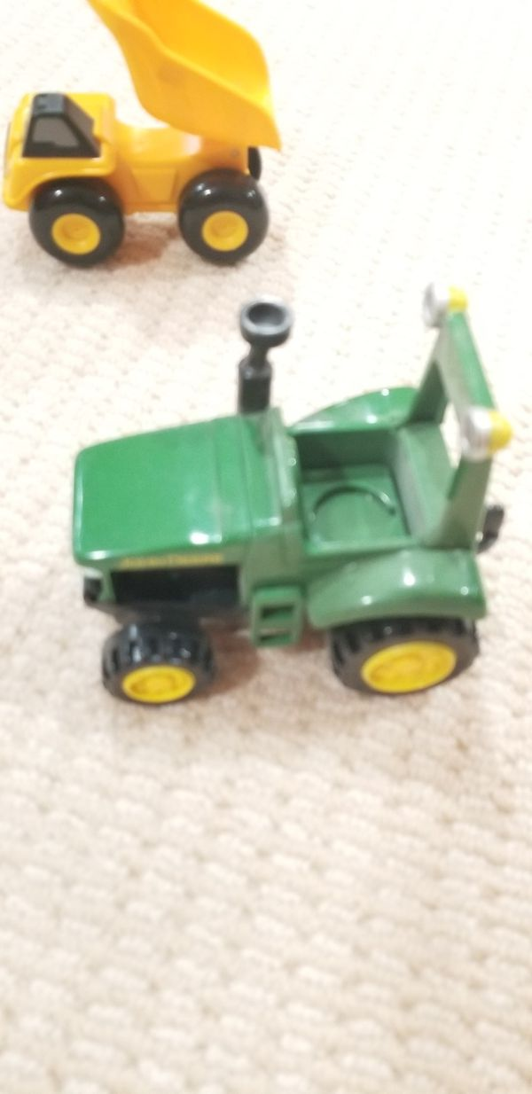 Kids trucks and John Deer tractors