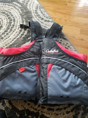 General boating fishing vest canoeing kayaking sailing adult s/m for Sale in Affton, MO