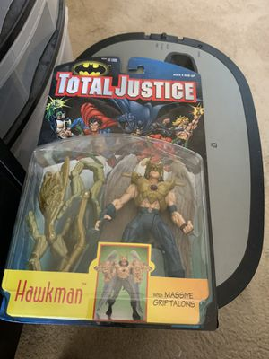 Total Justice Hawkman 1996 Action Figure for Sale in Gilbert, AZ