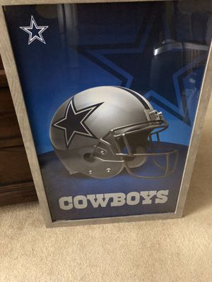 COWBOYS framed poster for Sale in Rochester, NY