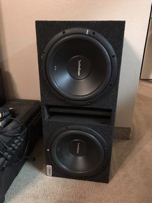 """Rockford fosgate R2 12"""" speakers car audio for Sale in Phoenix, AZ"""