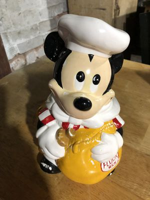 Mickey Mouse Cookie Jar for Sale in undefined
