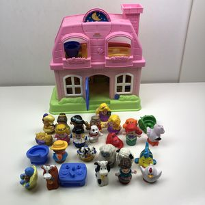 Fisher Price Little People and House for Sale in Kirkland, WA