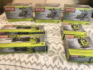 New Ryobi Brushless Tools (Unopened Boxes) for Sale in Chula Vista, CA
