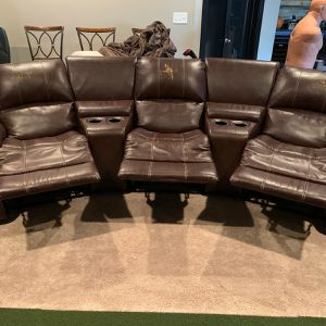 Measurements are 118 inches long, 37 inch deep and 39 inches tall for Sale in Ashburn, VA