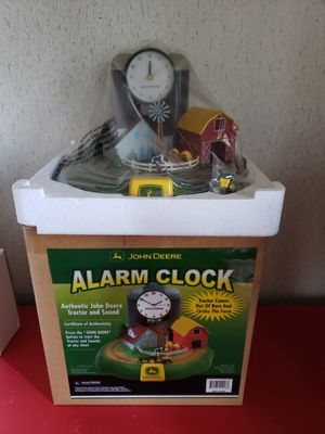 John Deere clock for Sale in Rustburg, VA